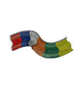Fringe Poly Pennant Strings Streamers